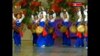 KCTV - Coréia do Norte - Dançarinas Tradicionais - 전통 무용단!