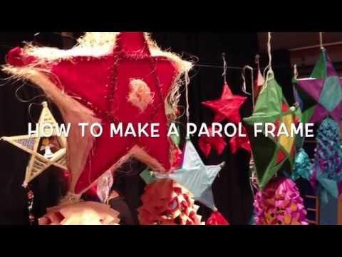 How To Make a Frame for a Xmas Parol Lantern