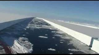 Antarctic Wilkins Ice Shelf Collapse