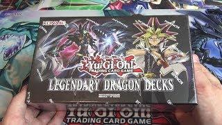 Yu-Gi-Oh! Legendary Dragon Decks Opening - New Dark Magician Fusion, Chimeratech, & Odd-Eyes Cards!