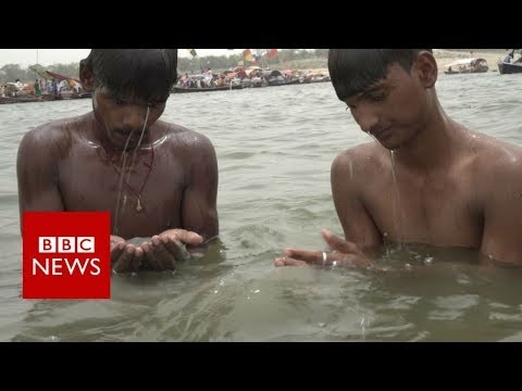 Xxx Mp4 Fishing For Coins To Survive In India BBC News 3gp Sex
