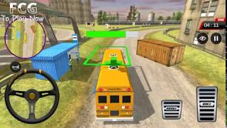 Offroad Track Bus Simulator - Offroad Bus Mountain Simulator - Android Gameplay