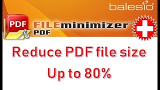 Compress your PDF files up to 80% with FILEminimizer PDF