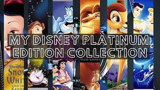 Disney Platinum Edition DVDs