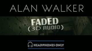 Alan Walkar - Faded 3D Audio.