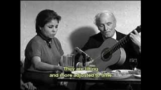 Bernarda de Utrera _ Rito y Geografïa del cante Flamenco _ English subtitles