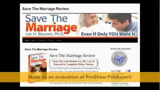 Save The Marriage Ebook FREE Download