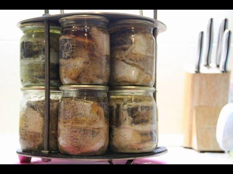 Рыбная консерва в автоклаве домашних условиях