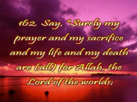 Surah 6 Al An aam The Cattle Verses 154 165