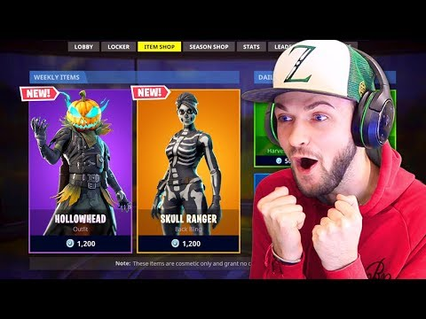 the NEW halloween skins!