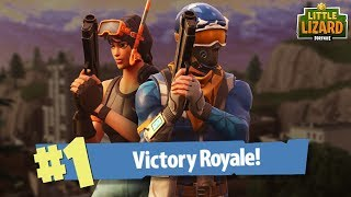 NOOBS GET THEIR FIRST WIN!!*Victory Royale* Fortnite Short Film