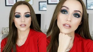 Matte Blue-Teal Smokey Eye | Makeup Tutorial