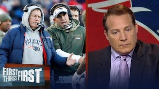 Eric Mangini explains how the Patriots have mastered 'Next man up' | FIRST THINGS FIRST