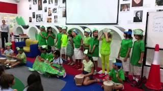 Y3B performed the poem