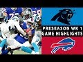 Download Video Download Panthers vs. Bills Highlights | NFL 2018 Preseason Week 1 3GP MP4 FLV