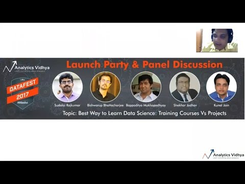 AV DataFest 2017 - Launch party & Panel Discussion