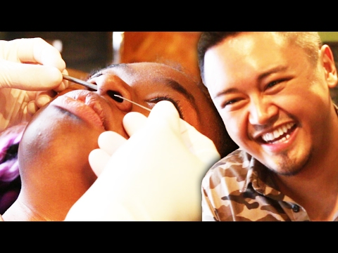 Best Friends Pick Surprise Piercings For Each Other