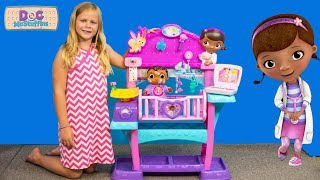 DOC MCSTUFFINS Disney All in One Baby Nursery with the Assistant TheEngineeringFamily Video