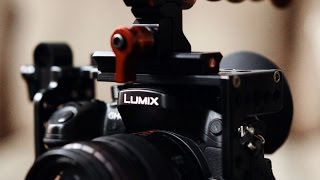 Rigging the Panasonic GH4: D|Cage, G-Cup, Atomos Power Station, Tascam DR-70D, RØDE, Zacuto & more