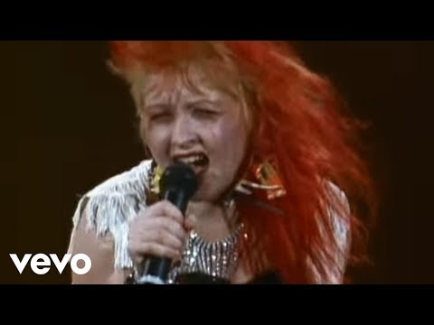 Cyndi Lauper - Money Changes Everything (Live)