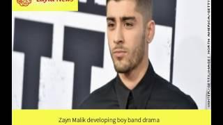 Zayn Malik developing boy band drama |  By : CNN