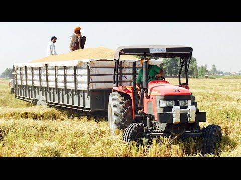 Xxx Mp4 Mahindra Arjun Tractor Power On 21FT Trolley 3gp Sex