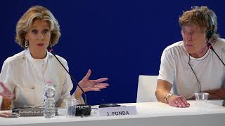 Jane Fonda and Robert Redford talk about sex and ageing