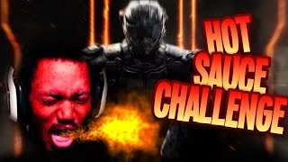 HOT SAUCE CHALLENGE | Call of Duty: Black Ops 3 [Beta]