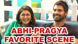 Abhi and Pragya's favorite scene