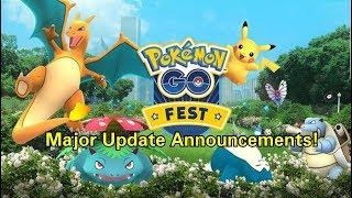Pokemon GO Fest and Gym Rework!