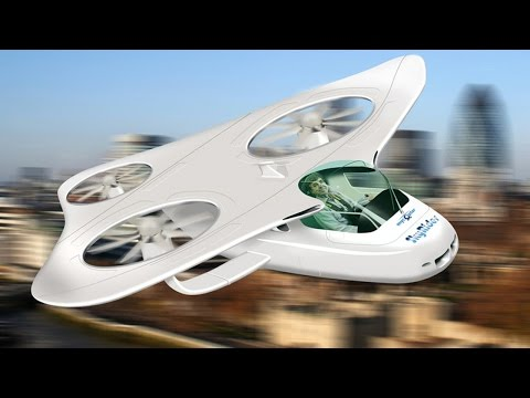 TOP - 5 Flying Cars You Need To See : FUTURISTIC TRANSPORT