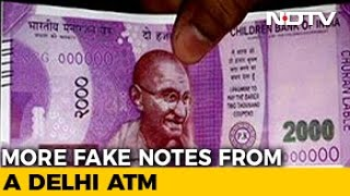 'Children Bank Of India' And 'Manoranjan Bank' Notes Come Out Of Delhi ATM