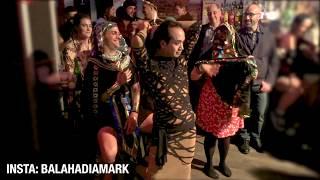 رقص شرقي في حفلة / مارك الامريكي / Bellydance at Halloween party