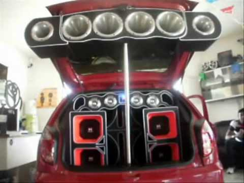 Audio Car Celta Devastador