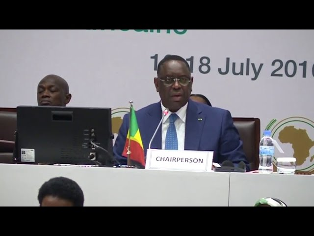 RWANDA SOMMET UA, SE President Macky SALL