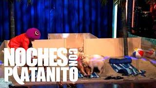 Jonathan Islas y Dayana Garroz juegan