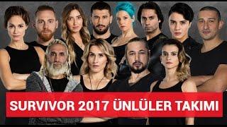 Survivor 2017 Ünlüler Tanıtımı