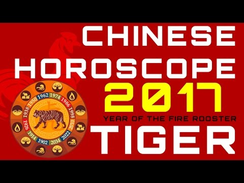Tiger 2017 Chinese Horoscope Predictions