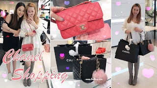 VLOG - CHANEL SHOPPING IN HONG KONG - GIRLY DATE 👭 WITH ANGELBIRDBB ♥