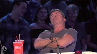 Simon Cowell is in a Really BAD MOOD Buzzing Off Great Acts | America's Got Talent 2017