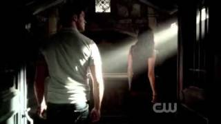 The Vampire Diaries 3x05 - Katherine & Jeremy open Michael's tomb