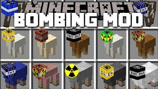Minecraft BOMBING MOD / FIGHT AND KILL ALL EVIL MOBS WITH YOUR RABBIT GRENADES!! Minecraft