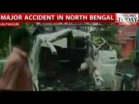 13 Die In Road Accident In Jalpaiguri