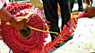 10,000 Wala - India's Longest Firecracker in Chennai, Tamil Nadu
