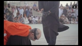 ISIS releases new video_ Terrorists behead two 'magicians' publicly
