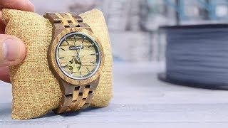 Armband aus dem 3D Drucker für meine Holzkern Uhr - DiY