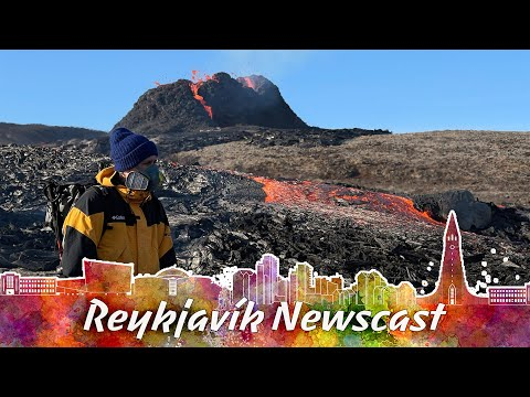 RVK Newscast 92 The New Fissure And Its Long Lava Flow