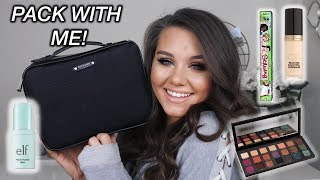 PACK WITH ME | WHAT IS IN MY TRAVEL BAG 2018