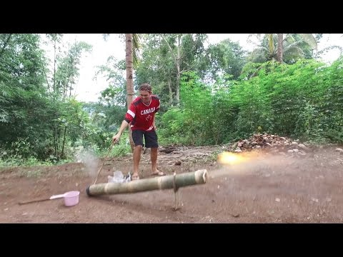 A Day of Explosions The Filipino Bamboo Cannon Lantaka