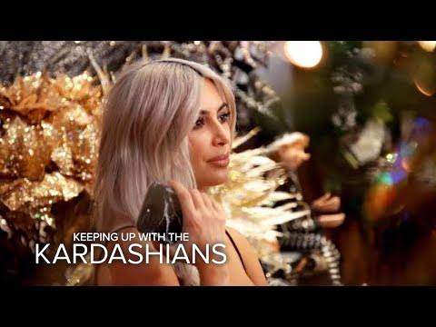 KUWTK Kim Kardashian Warns Family About Copying Her Christmas Decor E